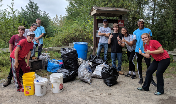 annual river cleanup