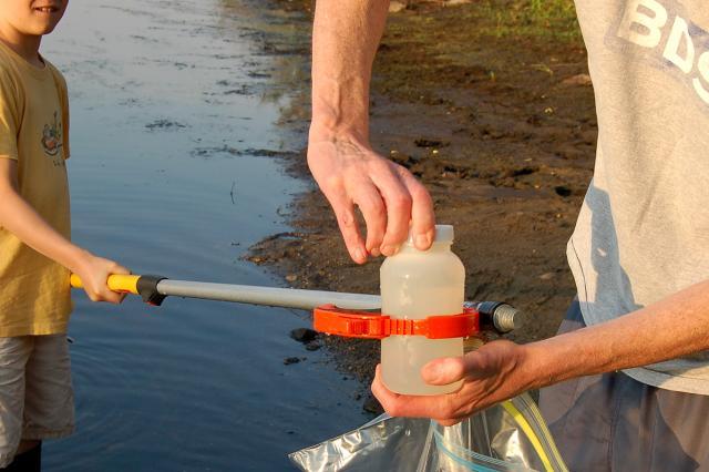 Sampling on the Sudbury River