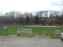 Athletic field site