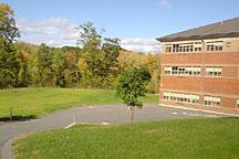 Drywell field behind school