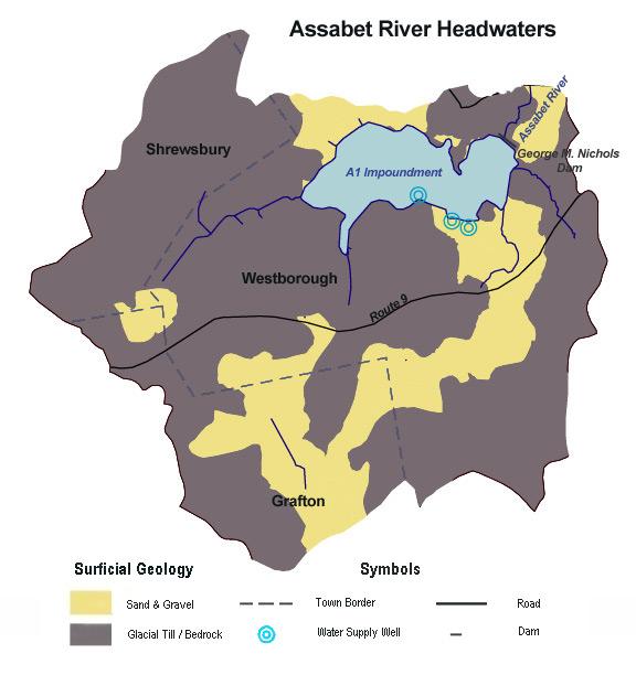 Assabet Headwaters Surficial Geology