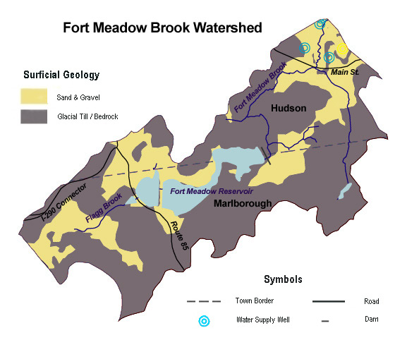Fort Meadow Brook Surficial Geology